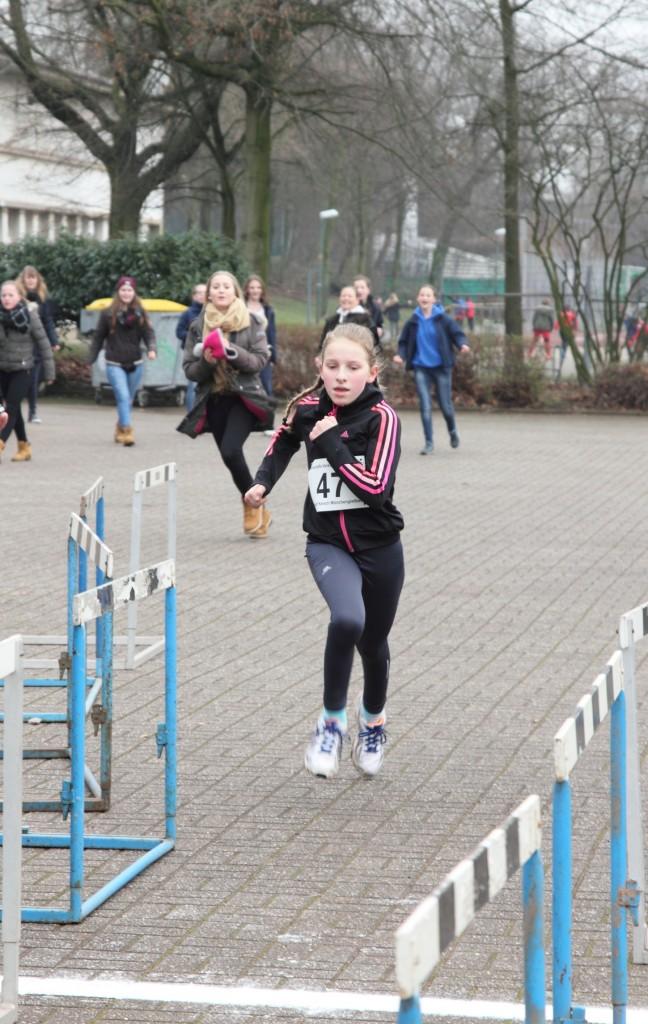 Lisa Imkamp beim Zieleinlauf